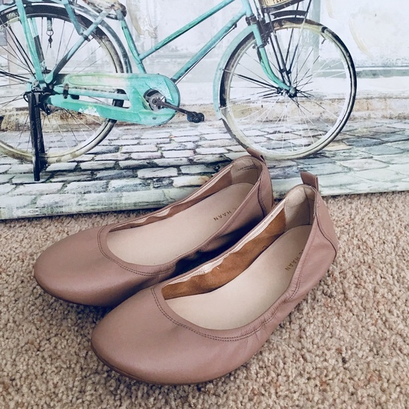 830013dea315 Cole Haan Shoes - Cole Haan Ballet Flats Leather Nude 9/9B Excellent